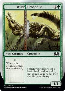 Wild Crocodile -
