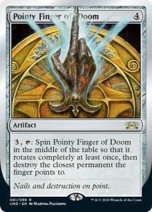 Pointy Finger of Doom -