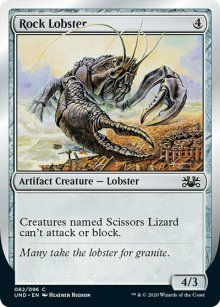 Rock Lobster - Unsanctioned