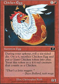 Chicken Egg - Unglued