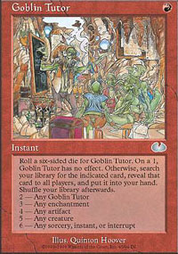 Goblin Tutor - Unglued