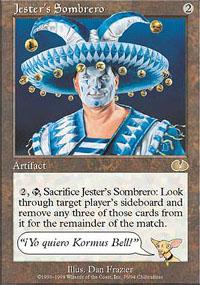 Jester's Sombrero - Unglued