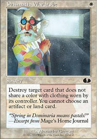 Prismatic Wardrobe - Unglued