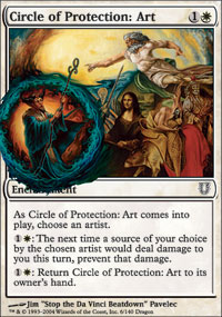 Circle of Protection: Art - Unhinged