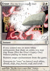 Erase (Not the Urza's Legacy One) - Unhinged