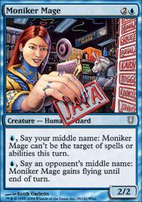 Moniker Mage - Unhinged
