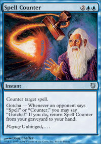Spell Counter - Unhinged