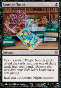 Booster Tutor - Unhinged