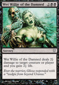 Wet Willie of the Damned - Unhinged