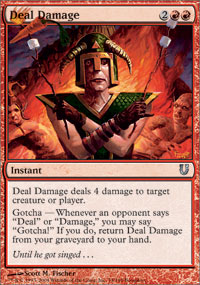 Deal Damage - Unhinged