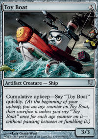 Toy Boat - Unhinged