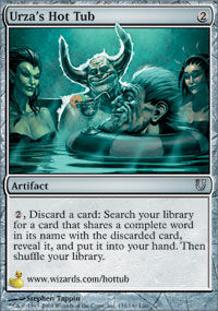 Urza's Hot Tub - Unhinged