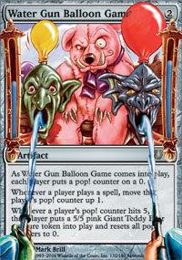 Water Gun Balloon Game - Unhinged
