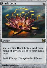 Black Lotus - Ultra Rare Cards