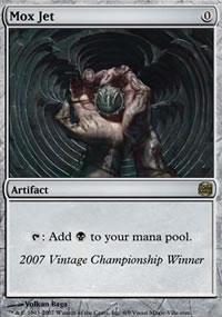 Mox Jet - Ultra Rare Cards