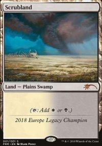 Scrubland - Ultra Rare Cards