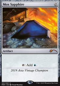 Mox Sapphire - Ultra Rare Cards