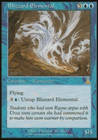 Blizzard Elemental - Urza's Destiny