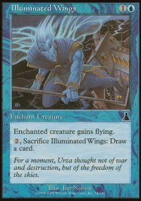 Illuminated Wings - Urza's Destiny