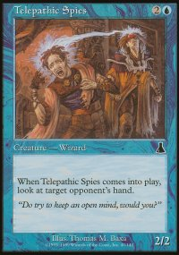 Telepathic Spies - Urza's Destiny