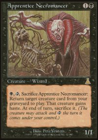 Apprentice Necromancer - Urza's Destiny