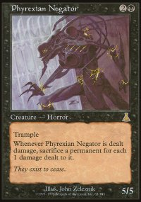 Phyrexian Negator - Urza's Destiny