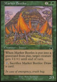 Marker Beetles - Urza's Destiny