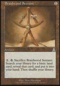 Braidwood Sextant - Urza's Destiny
