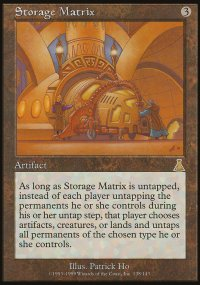 Storage Matrix - Urza's Destiny