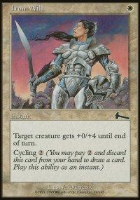 Iron Will - Urza's Legacy