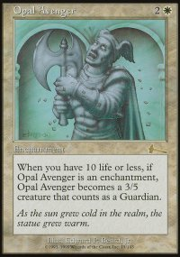 Opal Avenger - Urza's Legacy