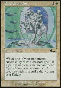 Opal Champion - Urza's Legacy