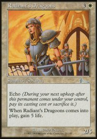 Radiant's Dragoons - Urza's Legacy