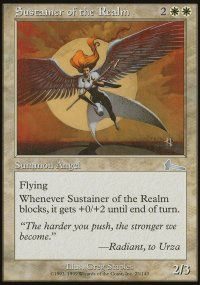 Sustainer of the Realm - Urza's Legacy