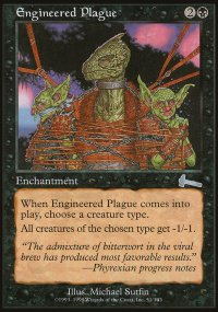 Engineered Plague - Urza's Legacy