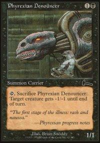 Phyrexian Denouncer - Urza's Legacy