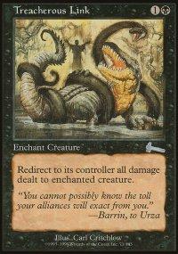 Treacherous Link - Urza's Legacy