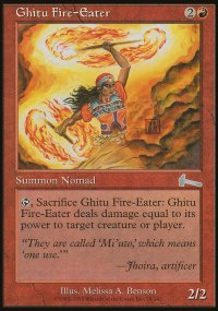 Ghitu Fire-Eater - Urza's Legacy