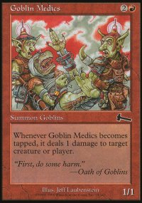 Goblin Medics - Urza's Legacy