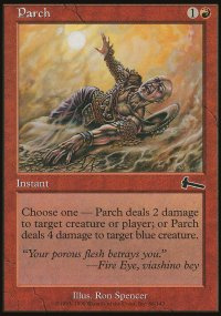 Parch - Urza's Legacy