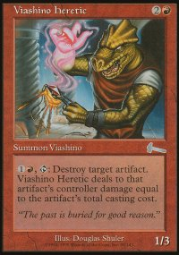 Viashino Heretic - Urza's Legacy