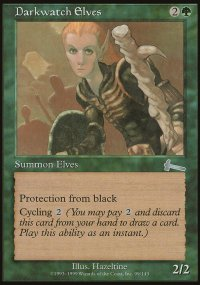 Darkwatch Elves - Urza's Legacy