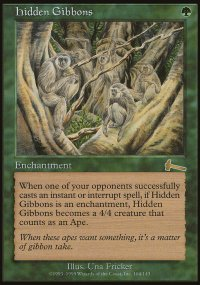 Hidden Gibbons - Urza's Legacy