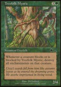 Treefolk Mystic - Urza's Legacy