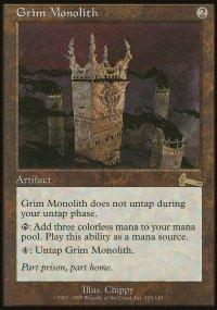 Grim Monolith - Urza's Legacy