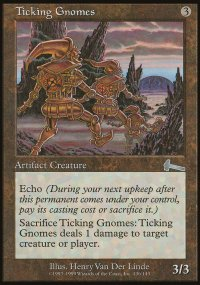 Ticking Gnomes - Urza's Legacy
