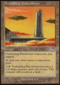 Forbidding Watchtower - Urza's Legacy