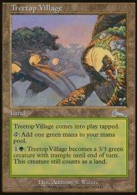 Treetop Village - Urza's Legacy