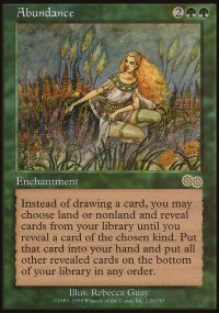 Abundance - Urza's Saga