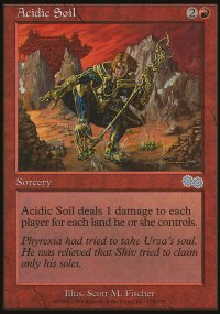 Acidic Soil - Urza's Saga